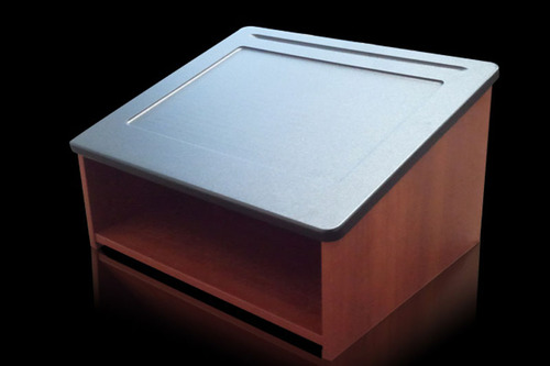 tabletop podium « los angeles partyworks, inc.   equipment rental