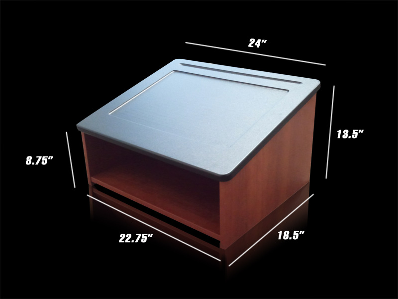 Tabletop Podium 171 Los Angeles Partyworks Inc Equipment