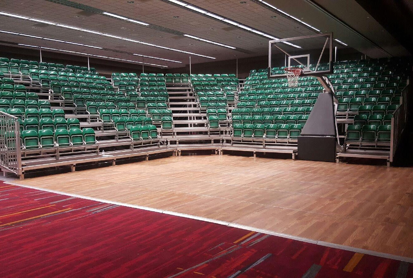 100 event venues for rent los angeles 11433 best for Average basketball court size