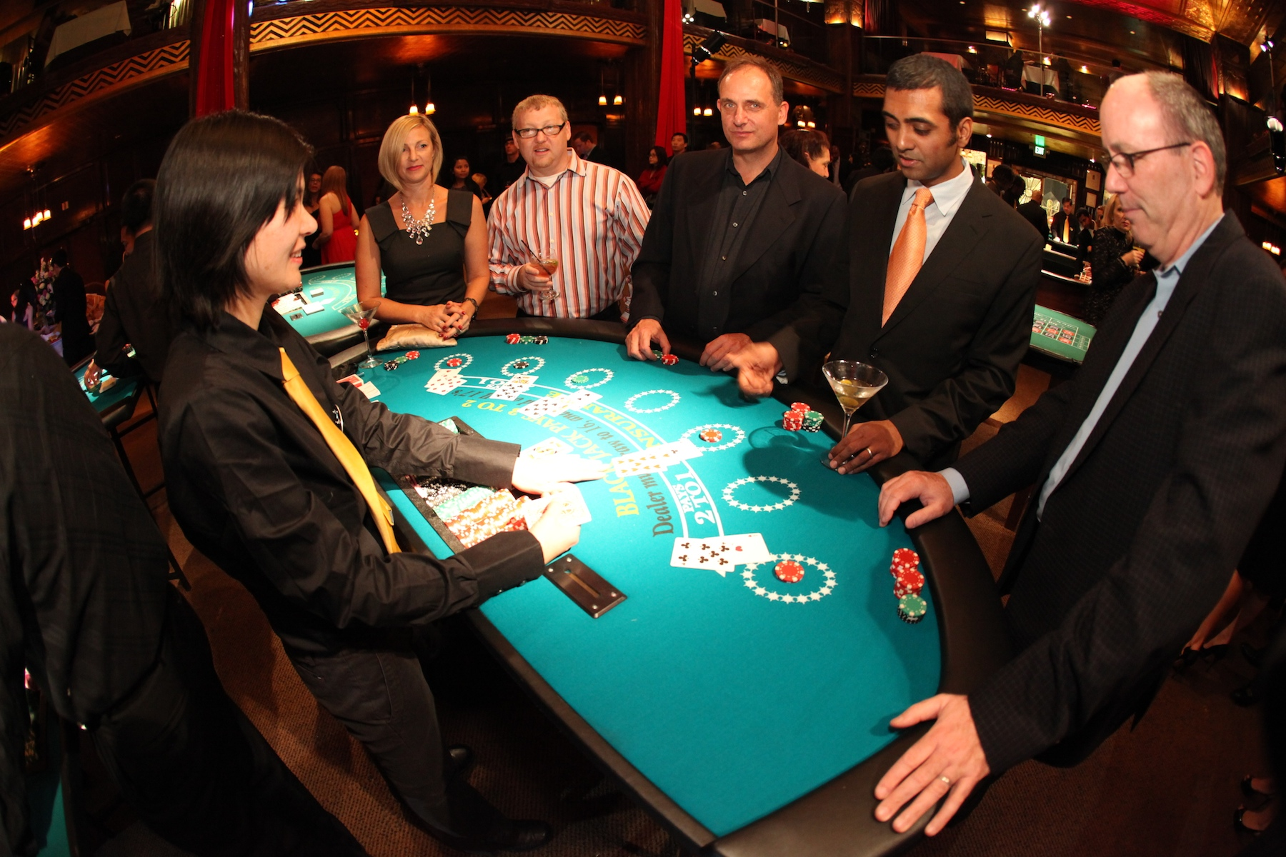 blackjack table 171 los angeles partyworks inc equipment