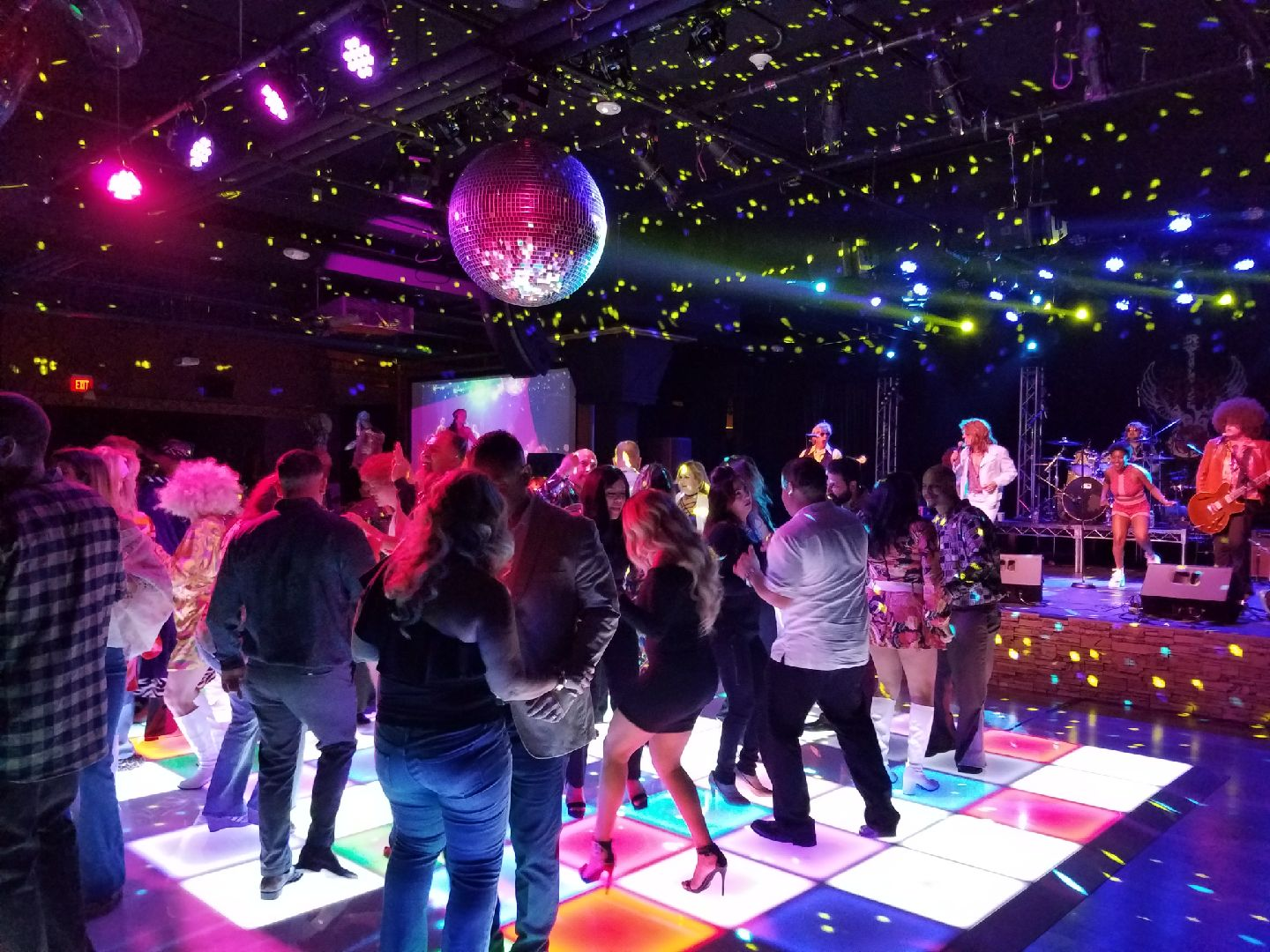 events good melbourne hire product green led illuminated feel dance floor