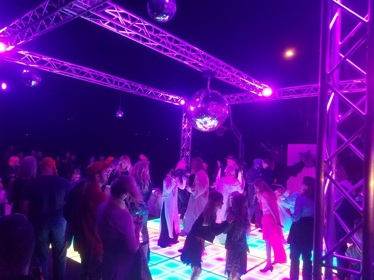 floor disco angeles los partyworks equipment ball shop rental inc led dance