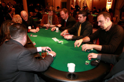 Poker Table 171 Los Angeles Partyworks Inc Equipment