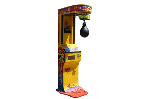 Eq Punch Out Boxing Punching Bag 171 Los Angeles Partyworks Inc Equipment Rental