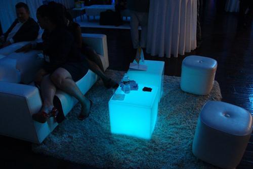 glowing furniture ...
