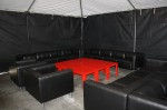 Black Furniture Red Coffee Table