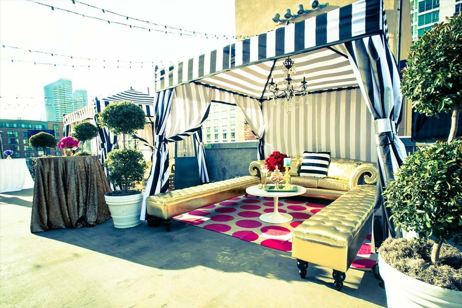 Stylish Cabana 171 Los Angeles Partyworks Inc Equipment