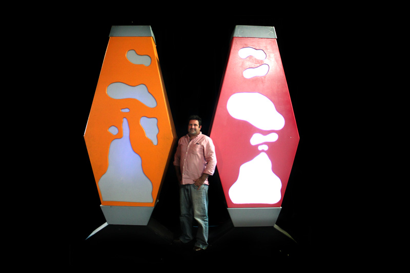 Giant Lava Lamps
