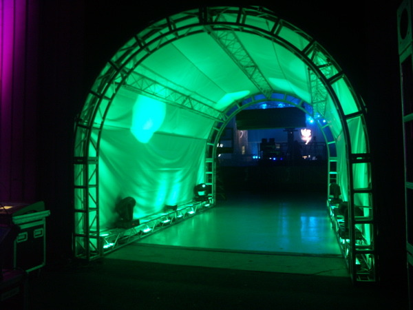 led tunnels 171 los angeles partyworks inc equipment