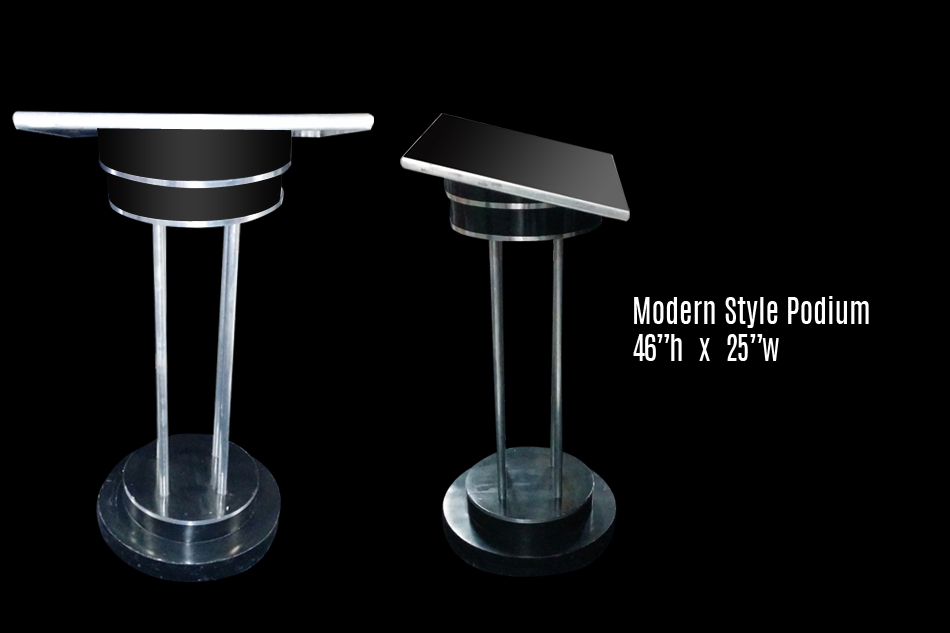Podiums Multiple Styles 171 Los Angeles Partyworks Inc