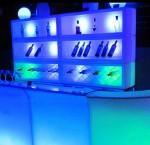 LED bar back