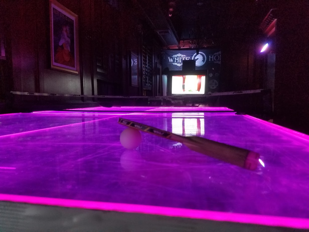 Superior LED Ping Pong Table