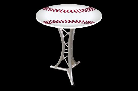 Baseball Cocktail Table Tops Los Angeles Partyworks Inc Equipment Rental Interactive