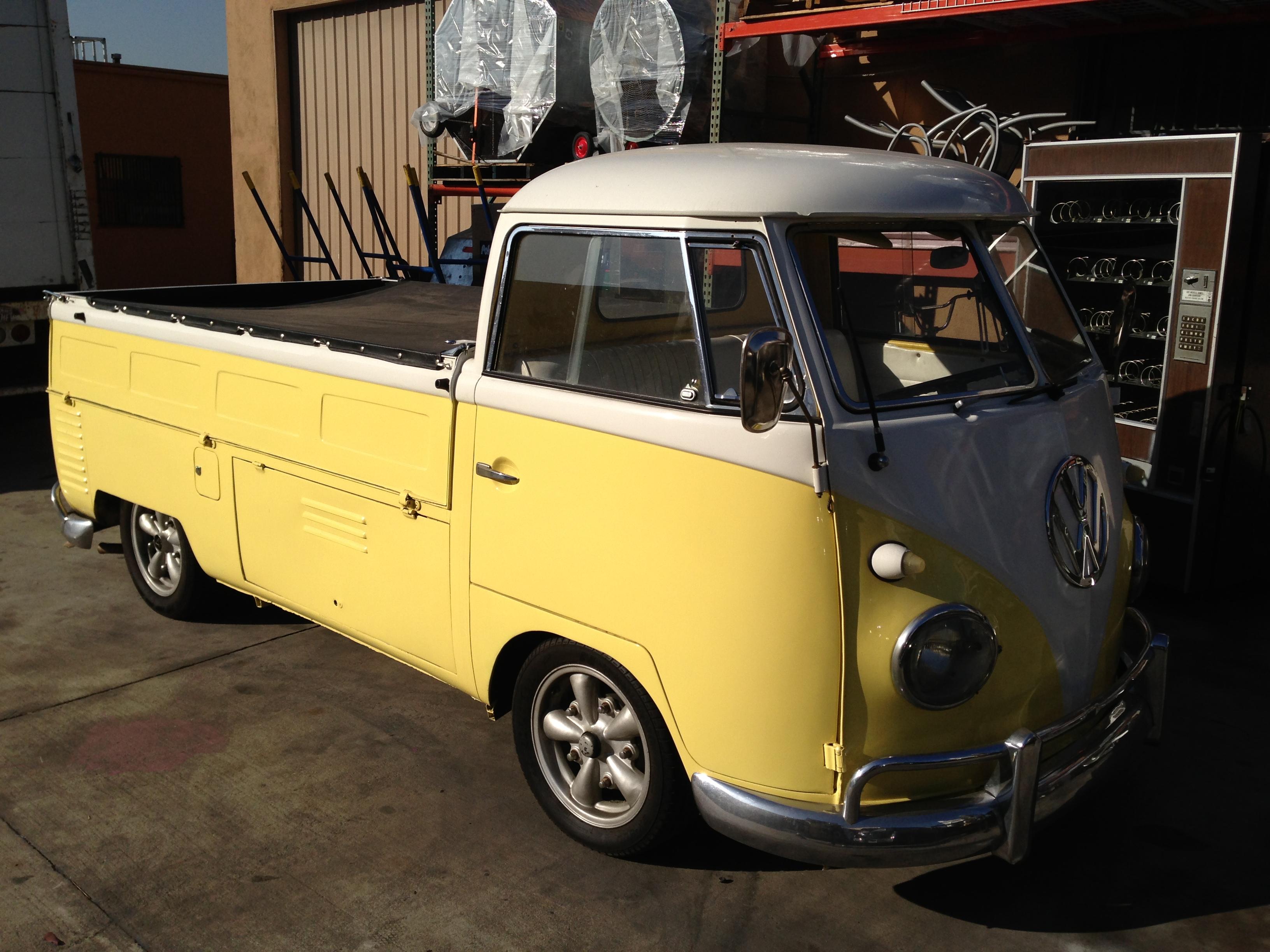 VW Bus 3 colors Los Angeles PartyWorks Inc