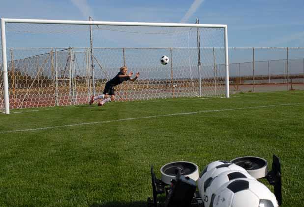 soccer passing machine