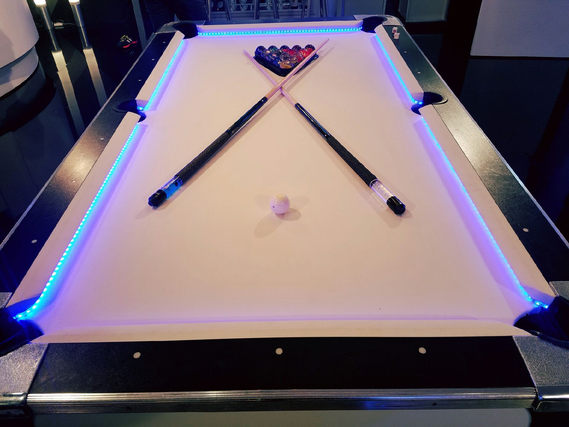 ... Led Pool Table Rental (3) ...