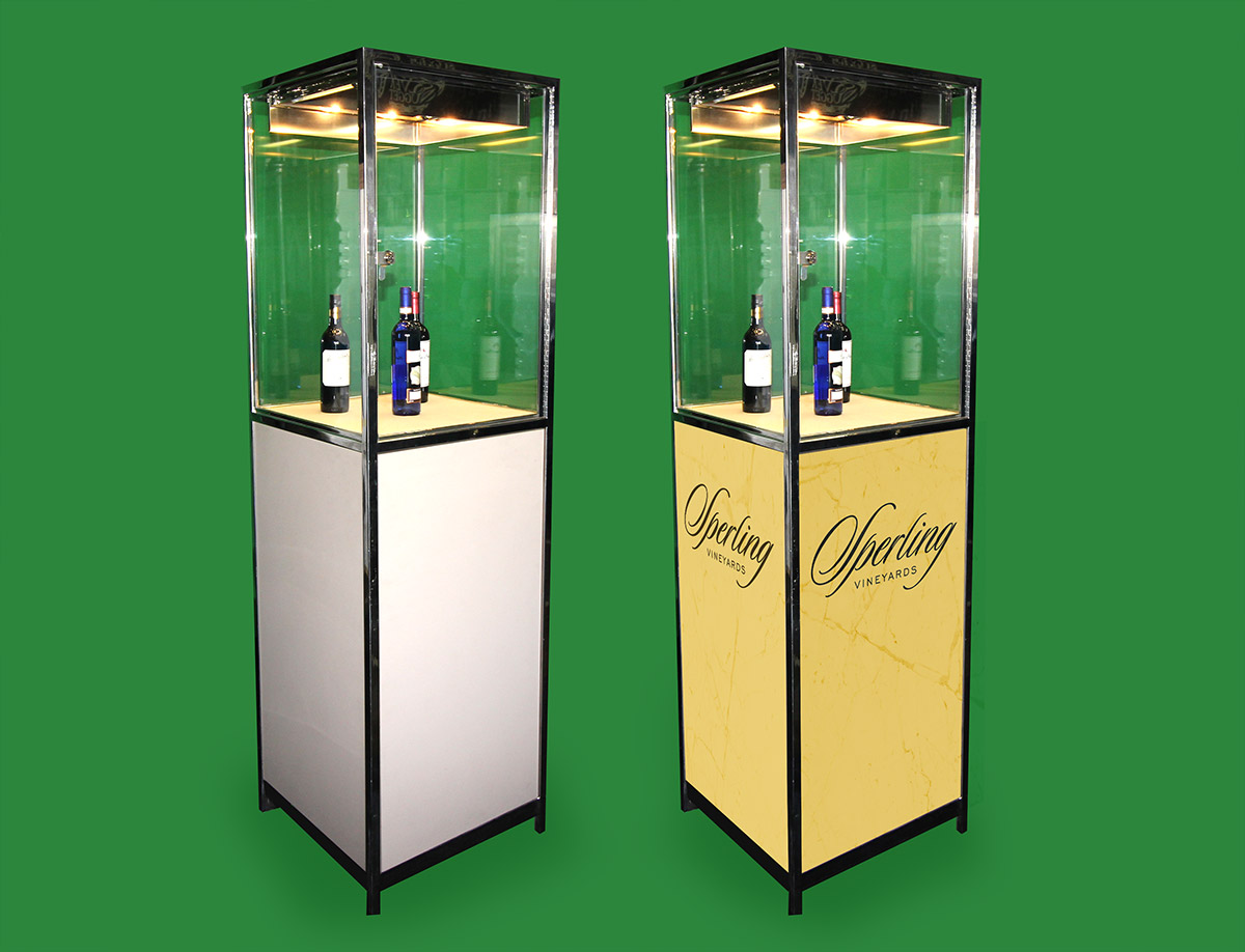 a38aa3e872 Large Display Case ( Product Display ) « Los Angeles PartyWorks