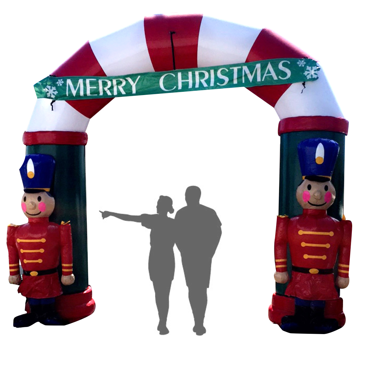 Christmas Entry Arch Inflatable « Los Angeles PartyWorks, Inc ...