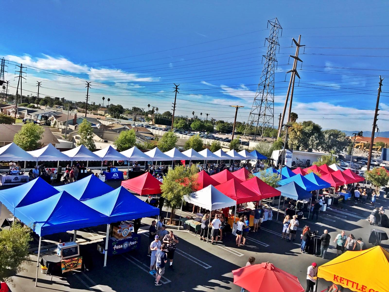 Ez Up Tents 171 Los Angeles Partyworks Inc Equipment