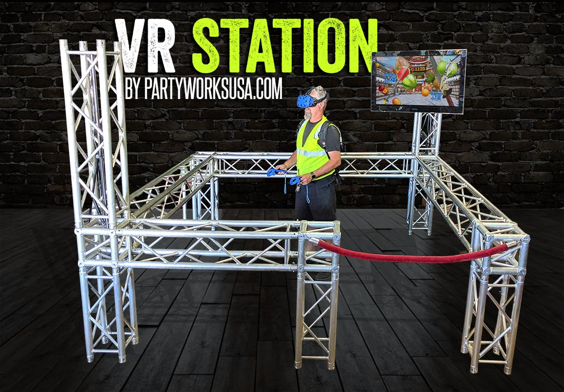 Virtual Reality 171 Los Angeles Partyworks Inc Equipment