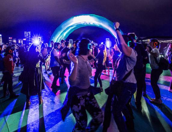 Silent Disco Rental 171 Los Angeles Partyworks Inc