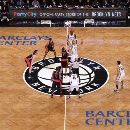 Basketball Court Logo Branding