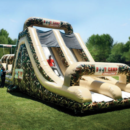 Military Obstacle Course Inflatable