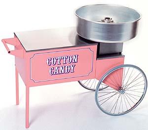 Cotton Candy Cart/Machine
