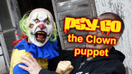 Crazy Clown Puppet