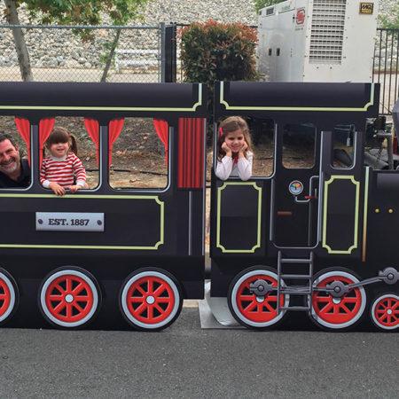 Train Photo Op Facade