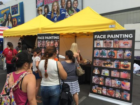 Face Painting Station