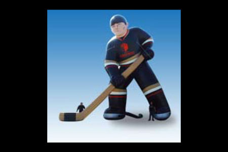 Giant Hockey Player