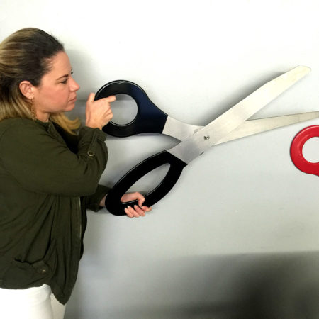 Giant Scissors for Grand Openings