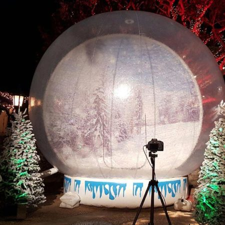 Giant Snow Globe Rental