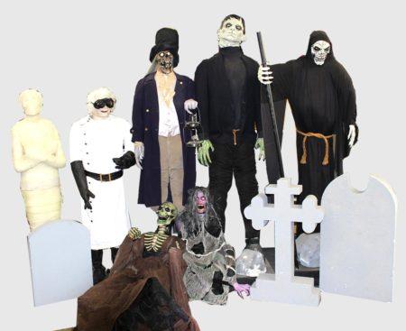 Halloween Monster Props