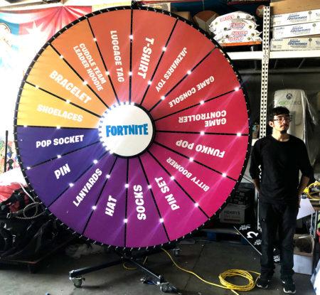 Giant Prize Wheel Rental