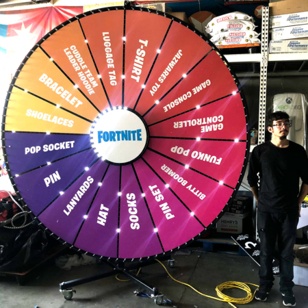 Giant Prize Wheel Rental