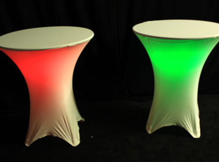 Illuminated Tables