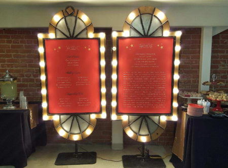 Marquee Lighted Poster Frame