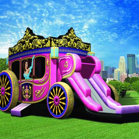 Princess Carriage Inflatable