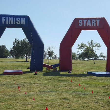 Inflatable Arch - Start and Finish