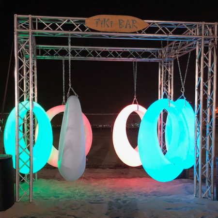 LED Swings Rental