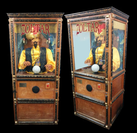 Zoltar the Mechanical Fortune Teller