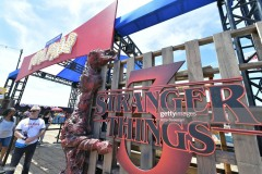 "SANTA MONICA, CALIFORNIA - JUNE 29: Atmosphere at the Netflix's ""Stranger Things"" Season 3 Fun Fair at Santa Monica Pier on June 29, 2019 in Santa Monica, California. (Photo by Amy Sussman/Getty Images)"