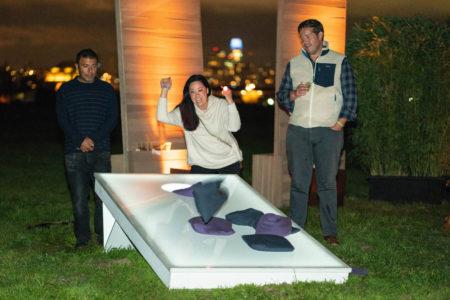 Giant LED CORN HOLE Toss