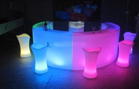 LED Bars & LED Bar Stools