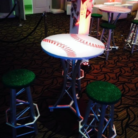Baseball Cocktail table tops