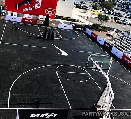 Basketball Court Rental