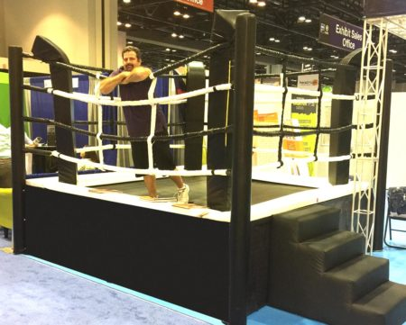 Boxing Ring Stage