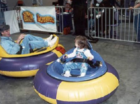 Space Racer Bumper Cars